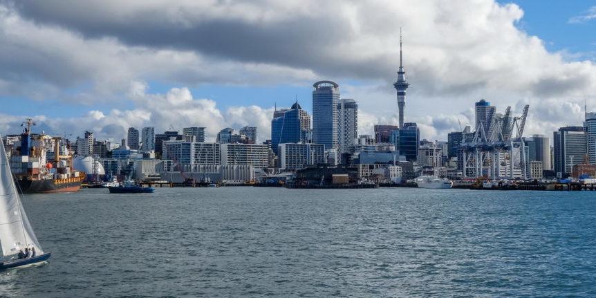 Trend Travel Yachting Neuseeland, Blick auf Auckland
