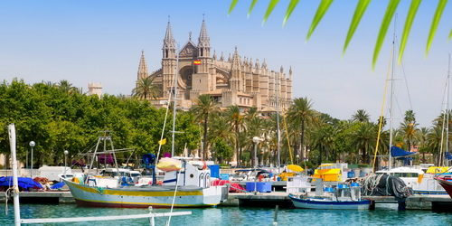 Yacht Charter Mallorca starting from Palma Marina La Lonja -Trend Travel Yachting